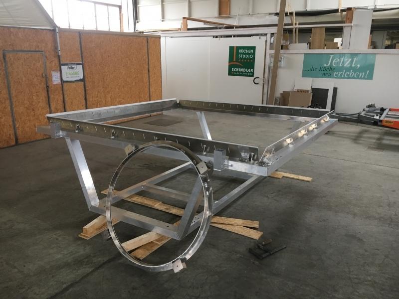 Aluminium Schweißarbeiten