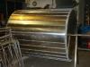 Edelstahl Aluminium Tank Kunstwerk