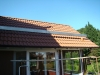 Edelstahl Aufdachkonstuktion Dachanschluss