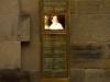 Bronze Stele Stuttgart und Beschriftung